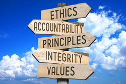 Business Ethics - The Law Of The Solid Groud