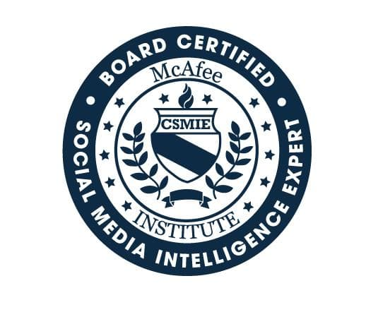 Certified Social Media Intelligence Expert (CSMIE) - McAfee Institute