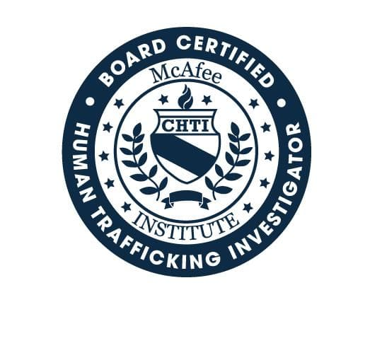 Certified Human Trafficking Investigator (CHTI) - Residential - McAfee Institute