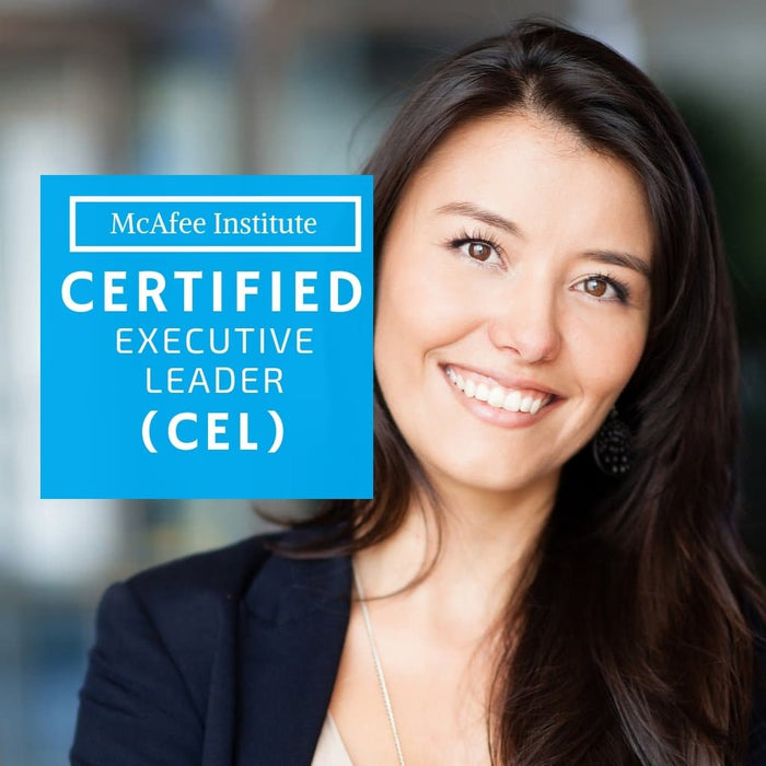 Certified Executive Leader (CEL) - McAfee Institute