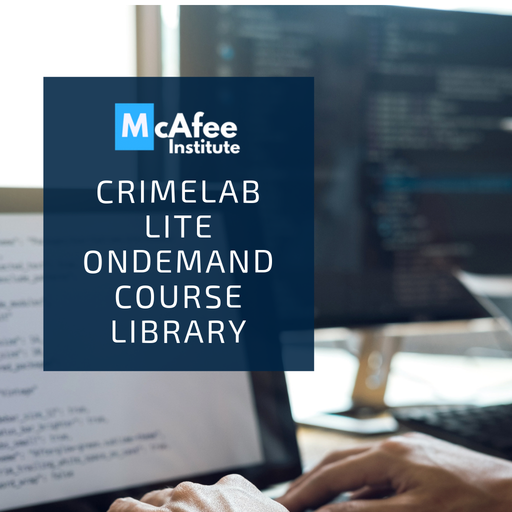 CrimeLab Lite | Online Course Library - McAfee Institute