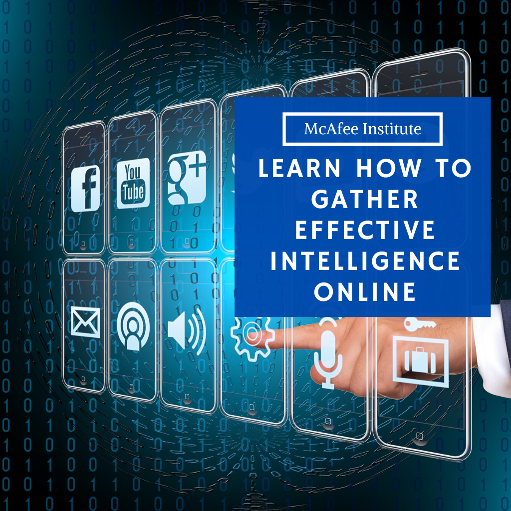 Learn How to Gather Effective Intelligence Online