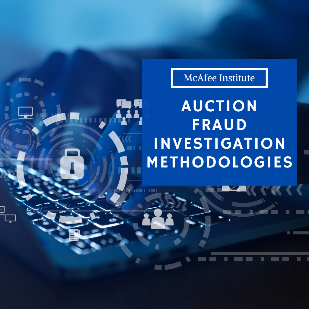 Auction Fraud Investigation Methodologies