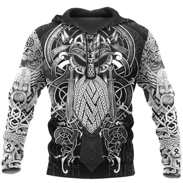 TATTOO VIKER™ - Sweat à capuche style tatouage Cosy Viking