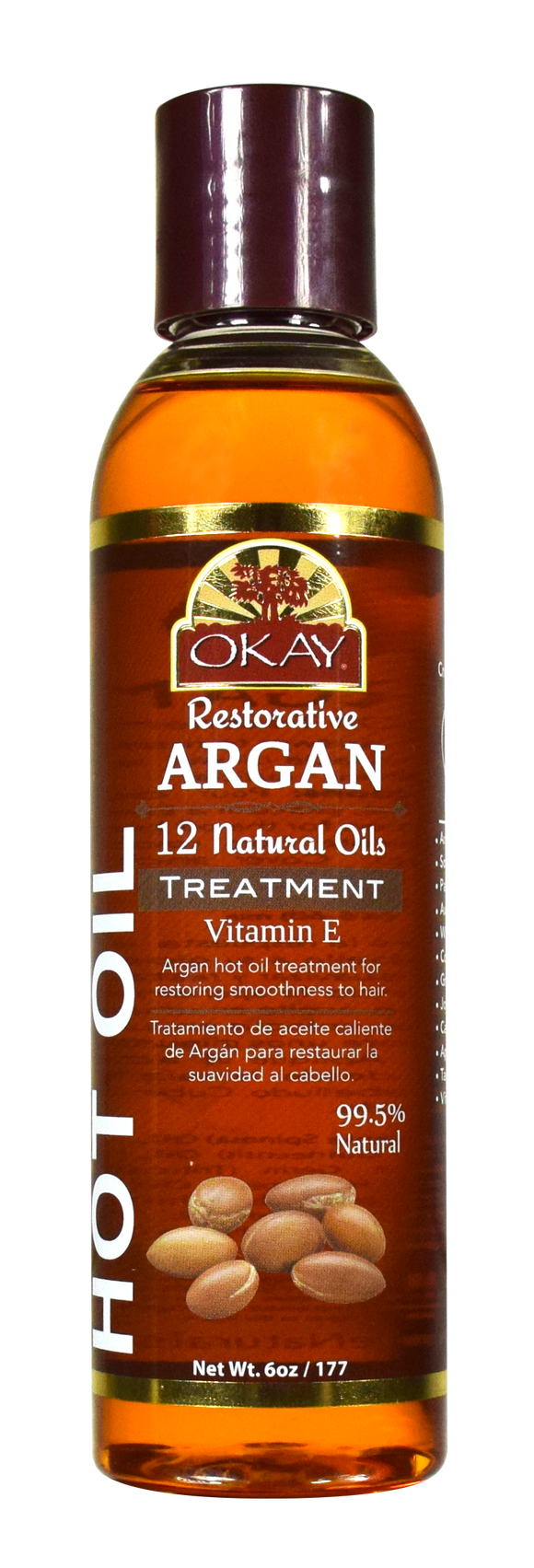 Okay Argan Oil Hot Oil Treatment, 6 Oz