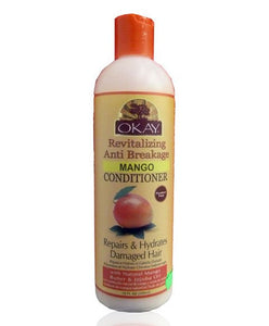 OKAY MANGO REVIATLIZING ANTI BREAKAGE CONDITIONER 12OZ / 355ML