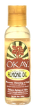 Okay Paraben Free Almond Oil for Hair & Skin 2 oz