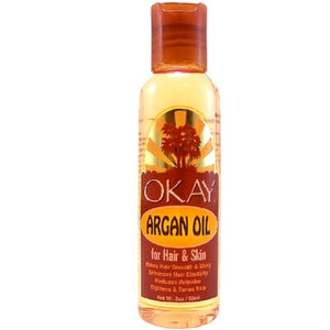 Okay Argan Oil For Skin And Hair 2.OZ.59ML.