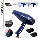 X3 Turbo Hair Dryer 100% Made in Italy