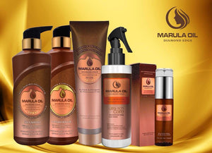 Marula Oil package . shampoo.Conditioner.mask.leave in Care.and serum oil. 5 pieces .