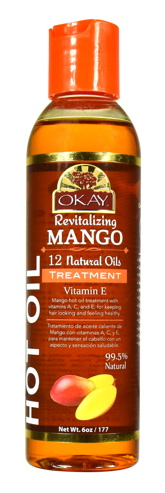 Okay Mango Hot Oil Treatment, 6 Oz