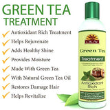 OKAY Green Tea Nourishing Antioxidant Rich Treatment – Helps Revitalize, Rejuvenate, And Restore Moisture to Hair - Sulfate, Silicone, Paraben Free For All Hair Types and Textures- Made in USA 8oz / 237ml