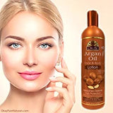 ARGAN OIL LOTION FOR FACE & BODY 16OZ / 473ML