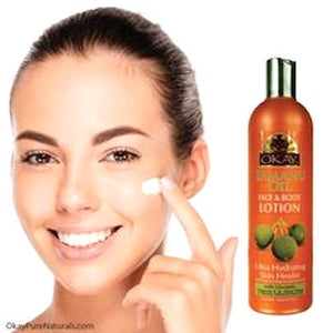Tamanu Oil Lotion for Face & Body - Instant Moisturizer- Heals Skin- Essential For Daily Protection -Helps Restore Elasticity- Achieve Soft, & Radiant Skin- Silicone, Paraben Free For All Skin Types- Made in USA16oz / 473ml