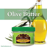Okay 100% Pure Olive Butter Smooth 7 oz.