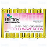 Brittny Cold Wave Rods - 12 Count,