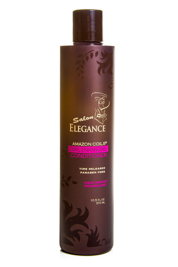 Elegance Amazon Coils Curl Enhancing Conditioner 10.5 oz./1