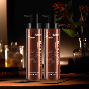 Sulfate Free Argan Oil Shampoo @ conditioner set .14 oz. package