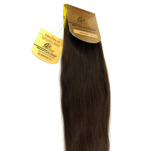 WEFT .PREMIUM NATURAL REMY HAIR EXTENSION 100% BRAZILIAN REMY HUMAN HAIR. /20 INCH.              # 4 . (STRAIGHT)