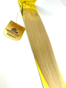 WEFT. HAIR EXTENSIONS .PREMIUM NATURAL .BRAZILIAN REMY 18 .INCH  # 613.