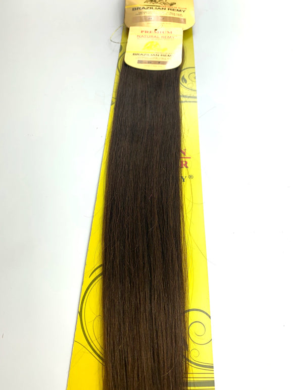 TAPE IN..PREMIUM NATURAL REMY 100% BRAZILIAN HUMAN HAIR TANGLE FREE/SHED FREE/GERM FREE .24.INCH # 4. 20 PIC.