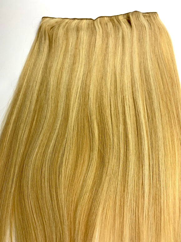 HALO NATION. HAIR EXTENSIONS % 100 REMY HUMAN HAIR. 16.INCH.# 14-24