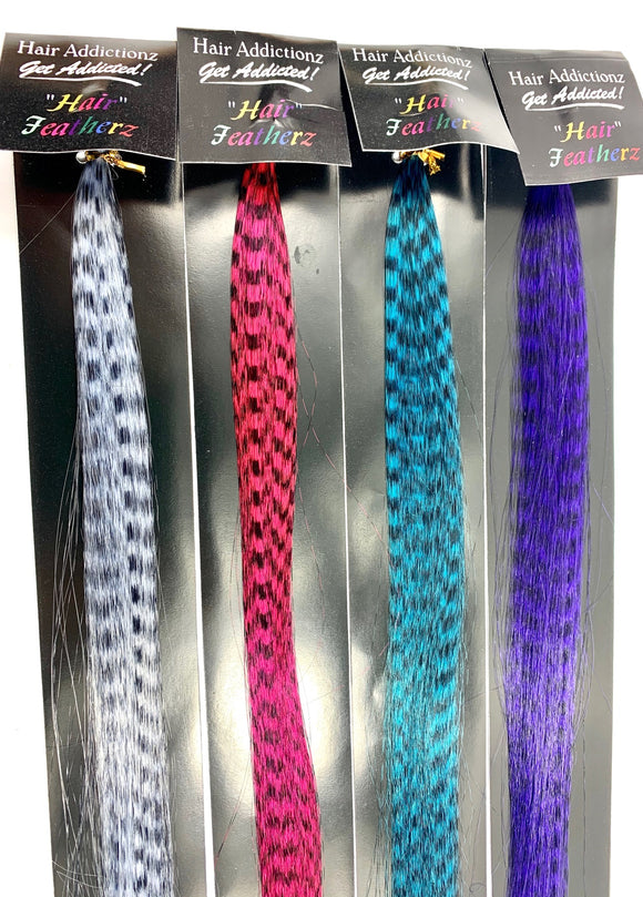 HAIR ADDICTIONZ HAIR FEATHERZ 18 INCH 8 PICES IN PACKGE