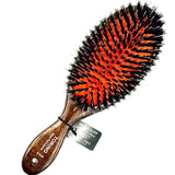 LADO.BRUSH BLACK WOOD, NYLON BRISTLES IN RED CUSHION