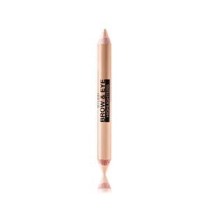 01 Matte Beige/High Glow Milani Brow & Eye Highlighters