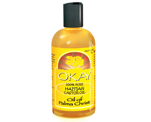 OKAY 100% Pure Haitian Castor Oil 4 oz,118ML