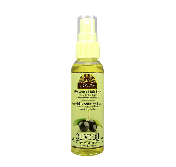 OLIVE SPRAY MIST OIL FOR HAIR 2.OZ / 59ML.Free Shipping.to U.S.A.