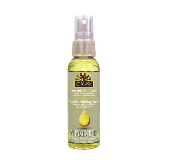 VITAMIN E SPRAY MIST OIL FOR HAIR 2.OZ / 59ML. Free Shipping To USA
