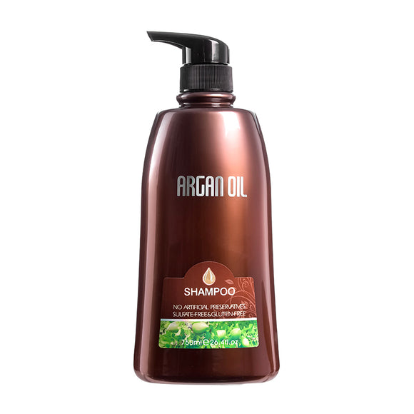 Argan Oil SHAMPOO  26.4 oz. 750ML NO ARTIFICIAL PRESERVATIVES SULFATE FREE &GLUTEN FREE &