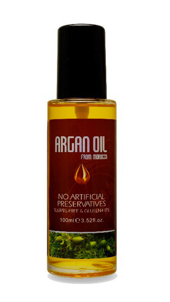 Argan Oil From Morocco Sulfate & Gluten Free 3.52 oz.