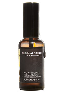 NUSPA Argan Oil From Morocco Sulfate & Gluten Free 1.76 oz.