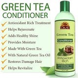 OKAY Green Tea Nourishing Antioxidant Rich Conditioner – Helps Revitalize, Rejuvenate, And Restore Moisture to Hair - Sulfate, Silicone, Paraben Free For All Hair Types and Textures- Made in USA 12oz / 355ml
