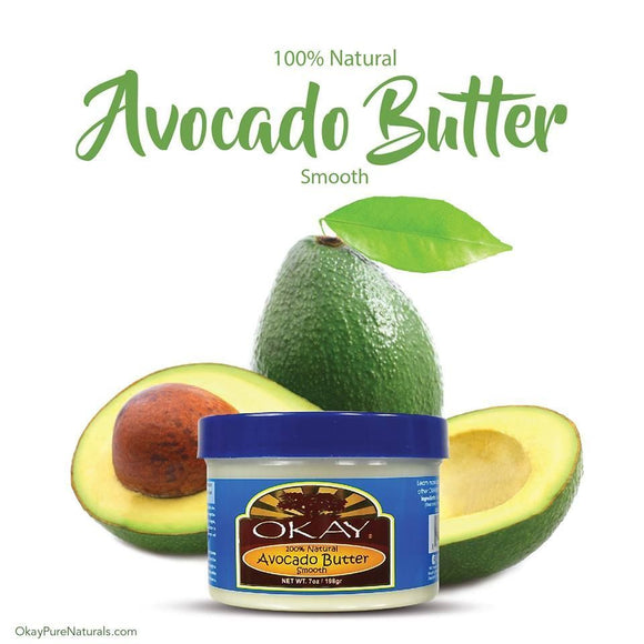 Okay 100% Natural Avocado Butter Smooth 7 oz.