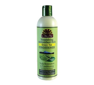OKAY GREEN TEA NOURISHING ANTIOXIDANT RICH CONDITIONER  12oz / 355ml