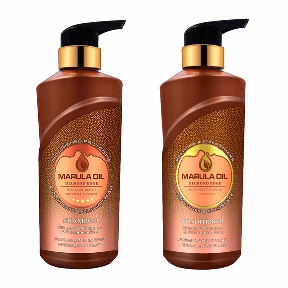 Marula Oil Shampoo and Conditioner Set.500ml.