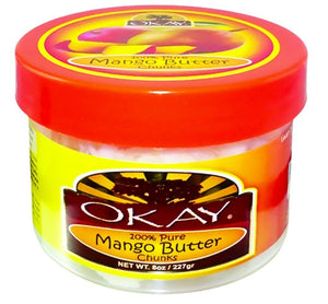 Okay 100% Natural Mango Butter Smooth 7 oz.