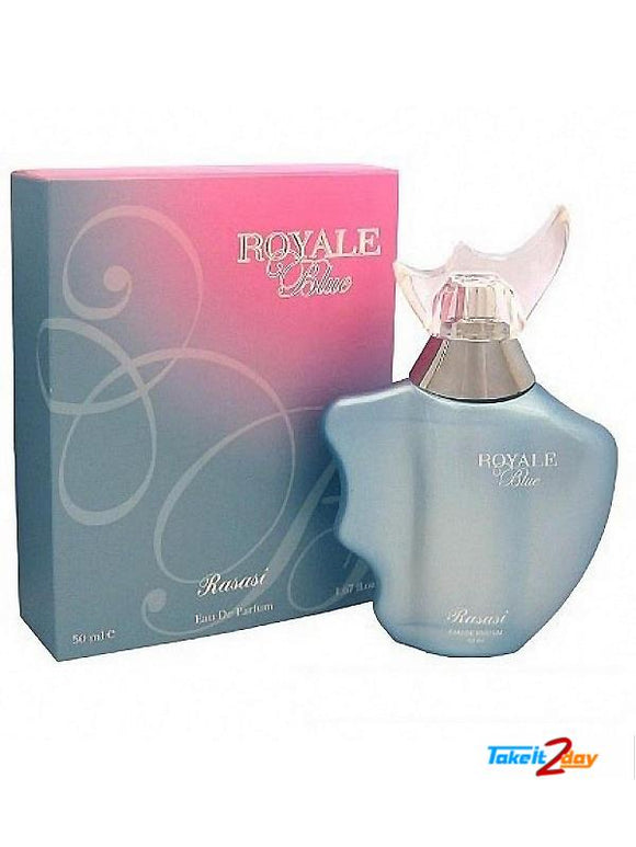 RASASI ROYAL BLUE PERFUME FOR WOMEN 50 ML EDP