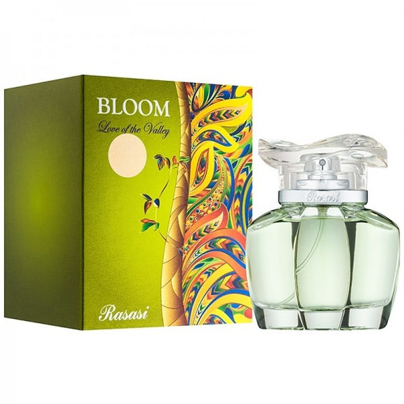 RASASI Bloom Love Of The  Valley.  For Women Perfume. 85Ml