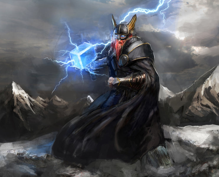Mjolnir - The Most Powerful Weapon In Norse Mythology