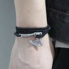 Load image into Gallery viewer, Premium Axe Bracelet - Viking Valor