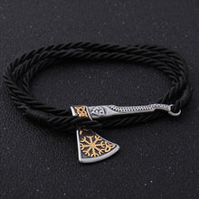 Load image into Gallery viewer, Gold Helm Axe Bracelet