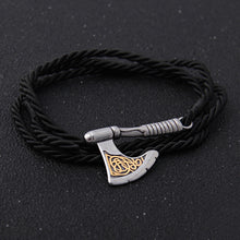 Load image into Gallery viewer, Golden Ember™ Axe Bracelet