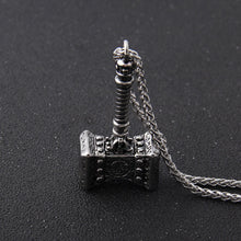Load image into Gallery viewer, Premium Hammer Necklace - Viking Valor