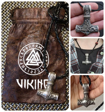 Load image into Gallery viewer, Mjolnir Viking Amulet - Mindgasm