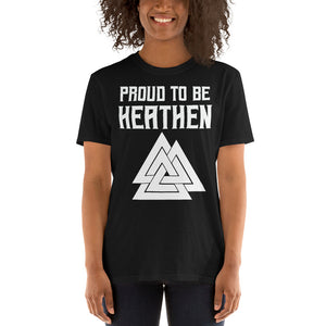 Proud To Be Heathen - Tee - Viking Valor