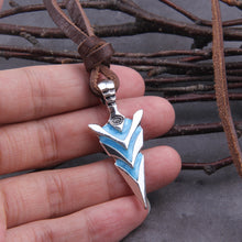 Load image into Gallery viewer, Lightning Arrowhead Pendant
